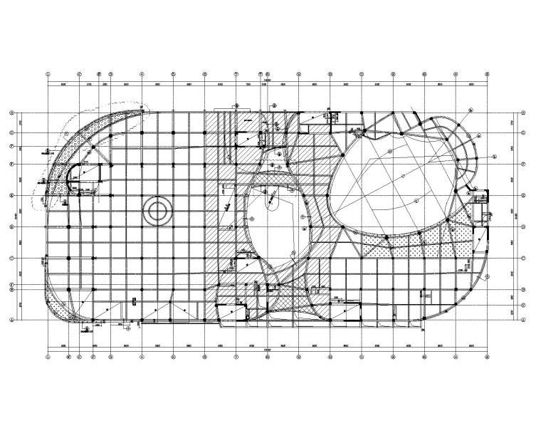 五层板配筋平面图
