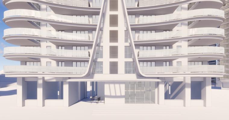 [广东]珠海华发绿洋湾滨海豪宅建筑模型设计(现代风格)-现代风格滨海豪宅 (25)