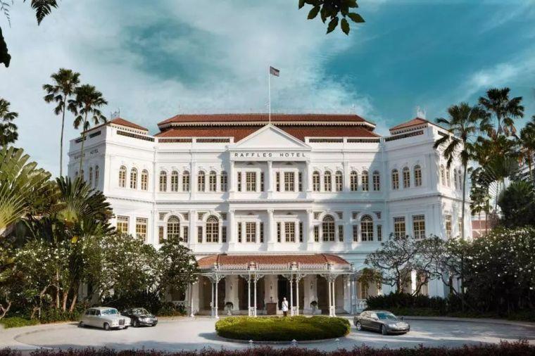 建筑改造丨新加坡莱佛士酒店