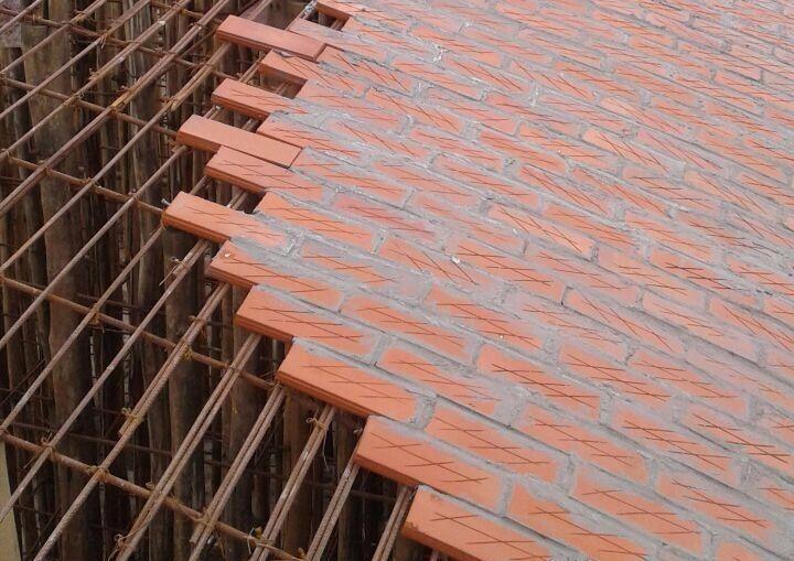 旅游公共建筑设计:印度砖拱学校图书馆/加泰罗尼亚砖拱_8