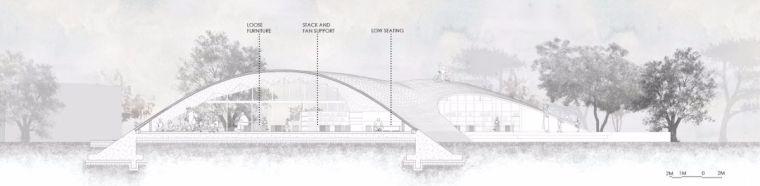 旅游公共建筑设计:印度砖拱学校图书馆/加泰罗尼亚砖拱_15