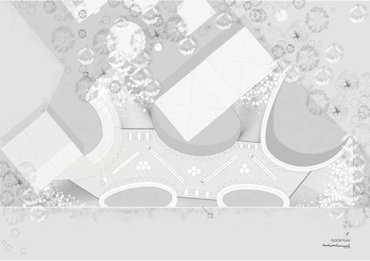 旅游公共建筑设计:印度砖拱学校图书馆/加泰罗尼亚砖拱_13