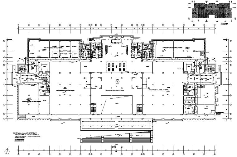 河南高校大型图书馆电气施工图