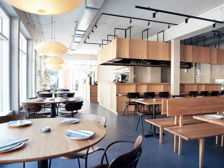 哥本哈根北欧风味的ZUMI餐厅