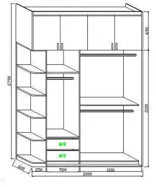 定制衣柜的详细图解,再也不用担心东西放不_8