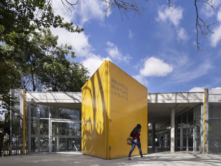 巴西蒙泰罗·洛巴托图书馆翻新