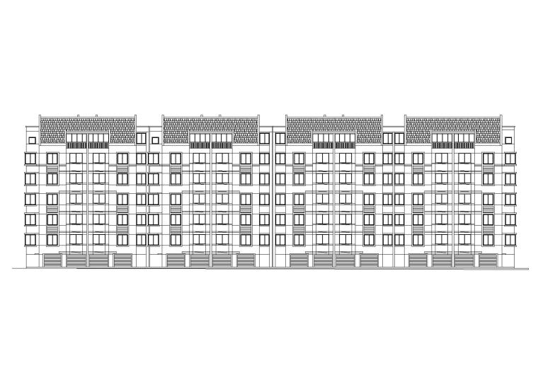 [山东]临沂高新区涑河居住区住宅建筑施工图