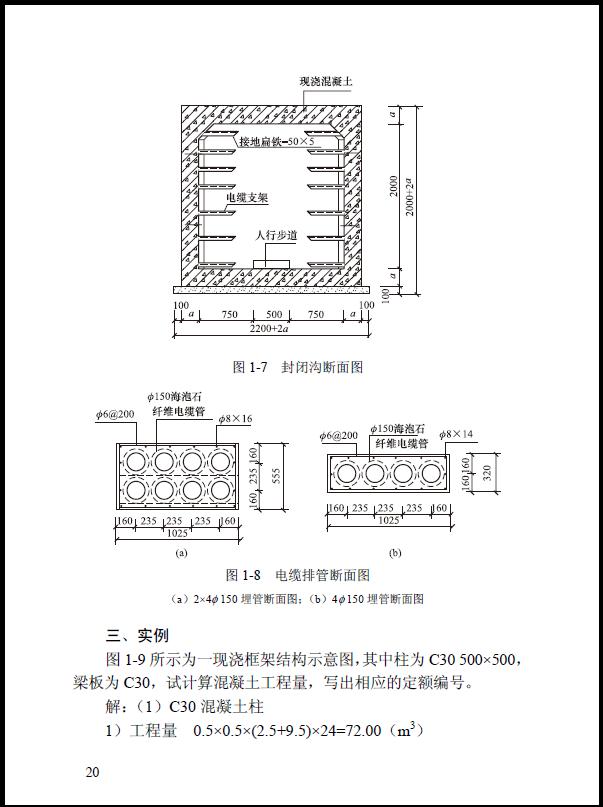 电缆排管断面图及案例