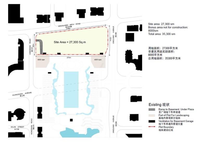 重庆高科集团有限公司办公楼,中国重庆, by Aedas_09_所在地块