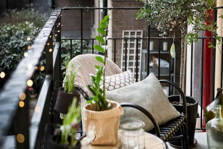 4㎡阳台,打造秘密花园!