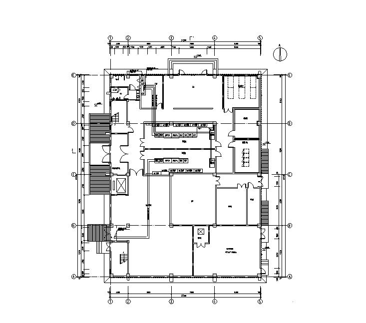 山东三层机房电气竣工图(含过程文件资料)
