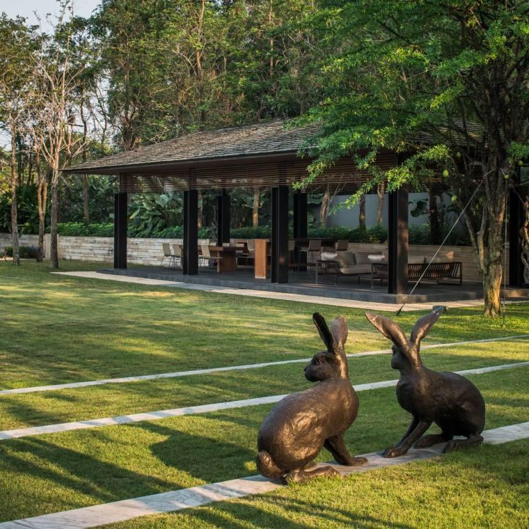 泰国私人住宅花园-5a2e31d55686f