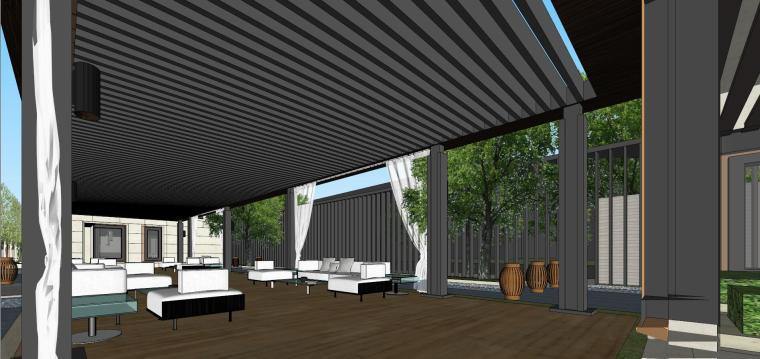 阳光城居住区建筑模型设计(新中式风格)-阳光城·杨浦区平凉社区地块投标 天华 (18)