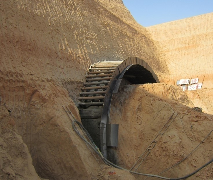 大断面黄土隧道支护结构受力特性研究及应用