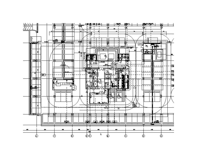 七层建筑消防报批电气施工图