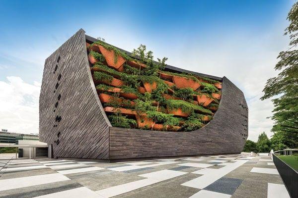 新加坡丨12个惊艳的绿色建筑(附绿建资料)_14