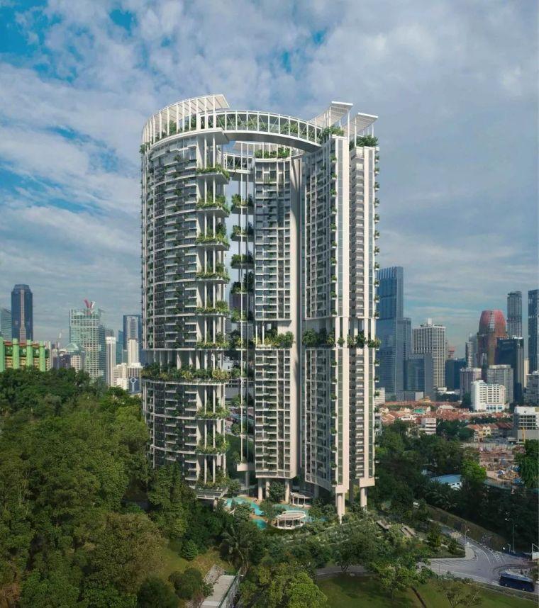 新加坡丨12个惊艳的绿色建筑(附绿建资料)_27