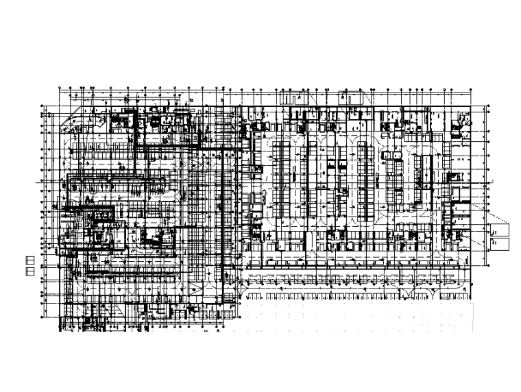 地下二层电力平面图