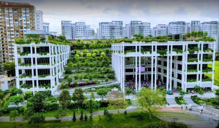 新加坡丨12个惊艳的绿色建筑(附绿建资料)_38