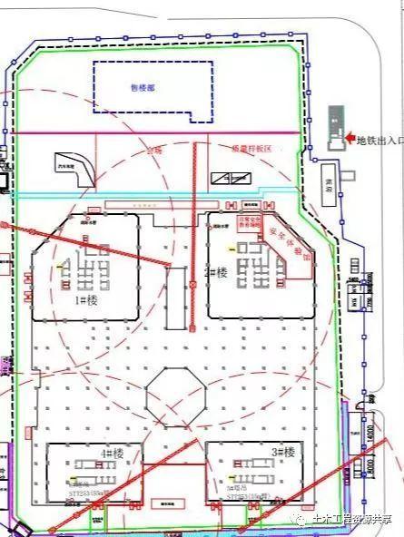 观摩中建三局施工的超高层项目,值得学习!