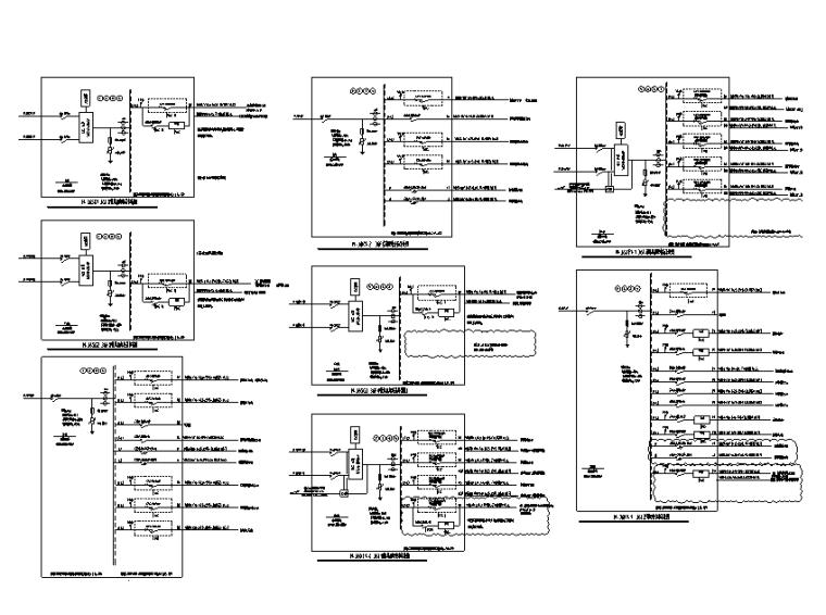 36层配电箱系统图