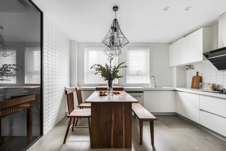 中央华城F3三居室样板房室内装修全套施工图-KYLE1880