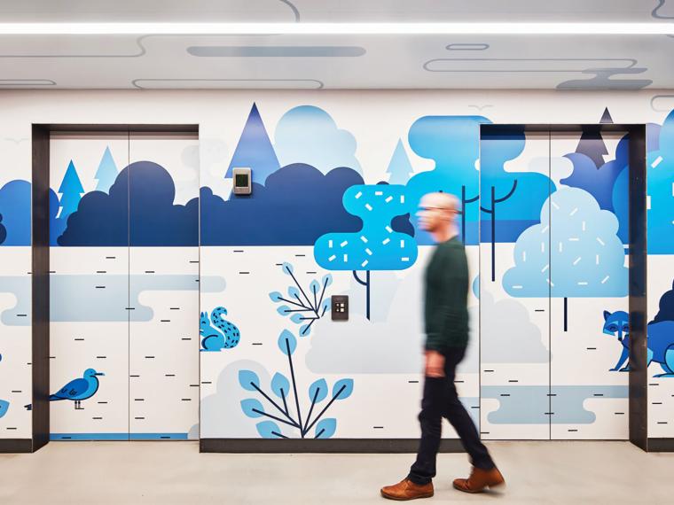 美国芝加哥领英品牌设计办公空间