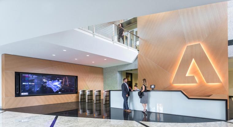 美国Adobe校园办公空间改造-1