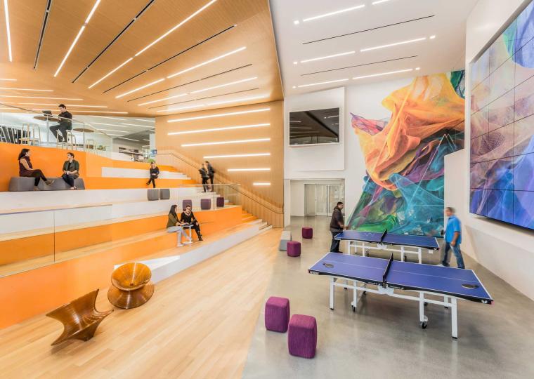 美国Adobe校园办公空间改造-2