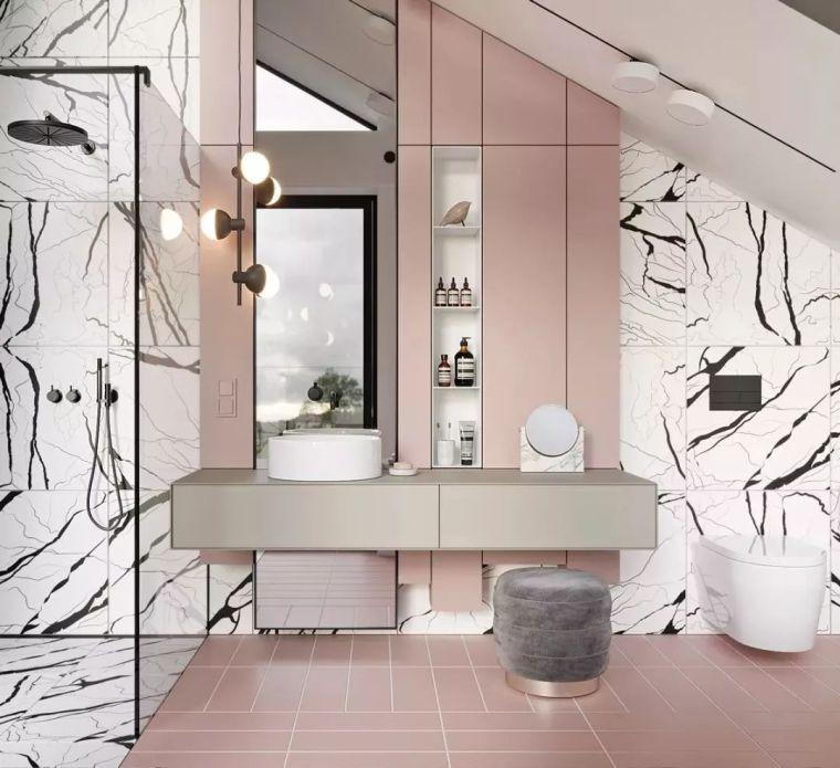 卫生间这样设计,能省掉好多家务活儿!_5