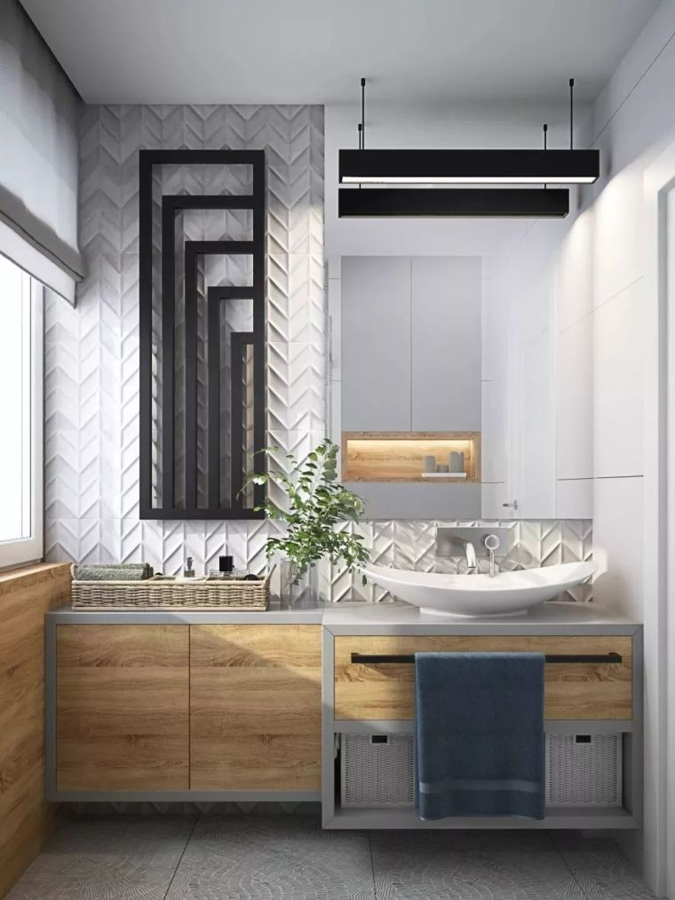 卫生间这样设计,能省掉好多家务活儿!_9