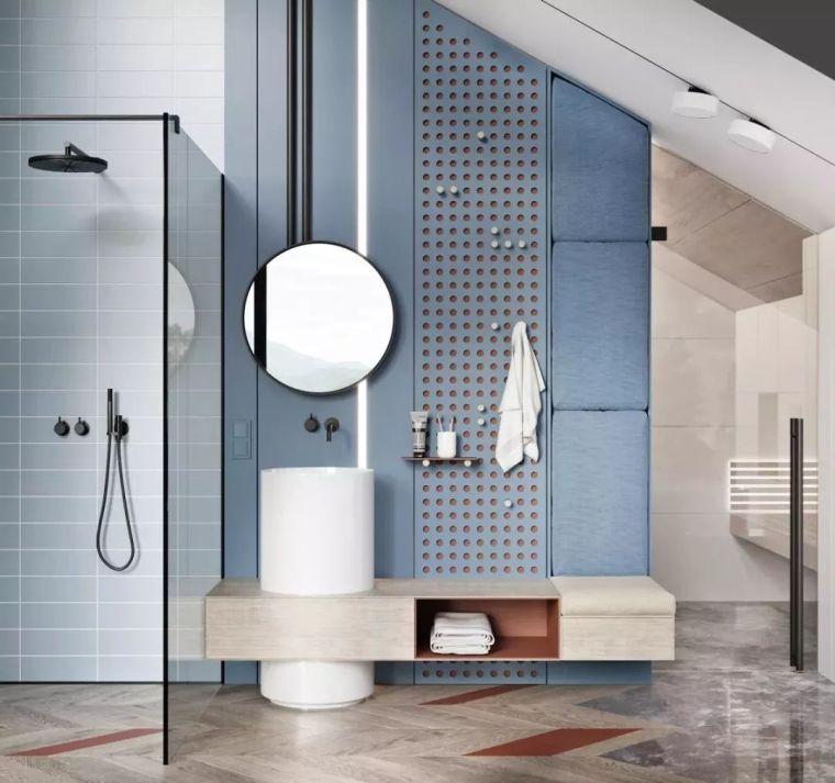 卫生间这样设计,能省掉好多家务活儿!_14