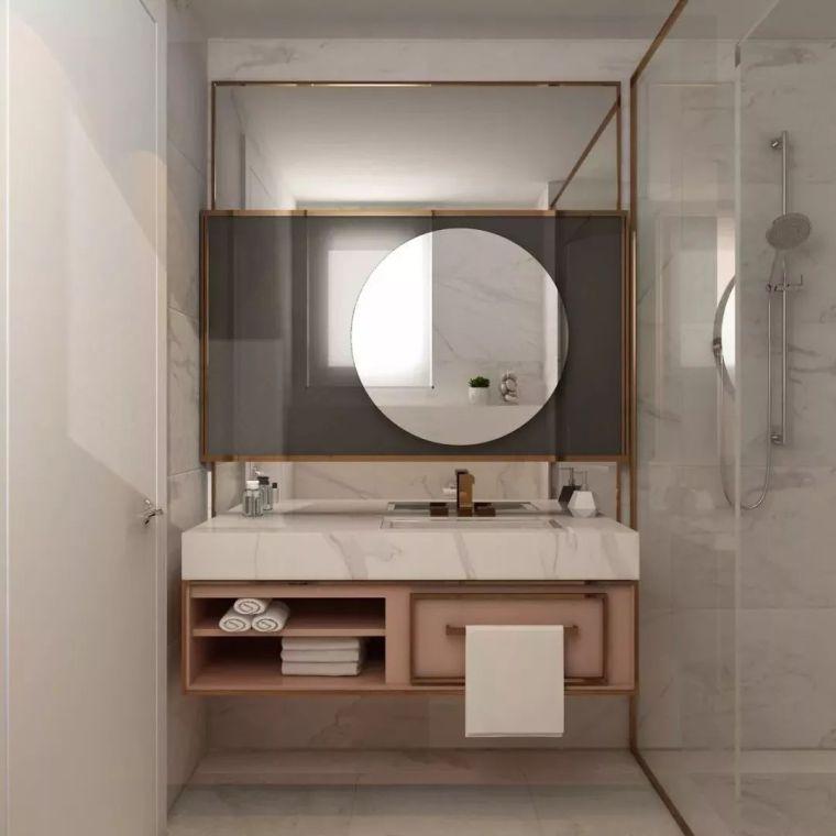 卫生间这样设计,能省掉好多家务活儿!_20