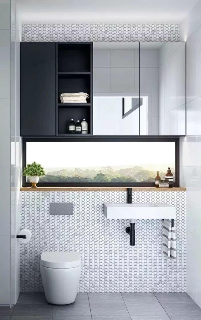 卫生间这样设计,能省掉好多家务活儿!_21