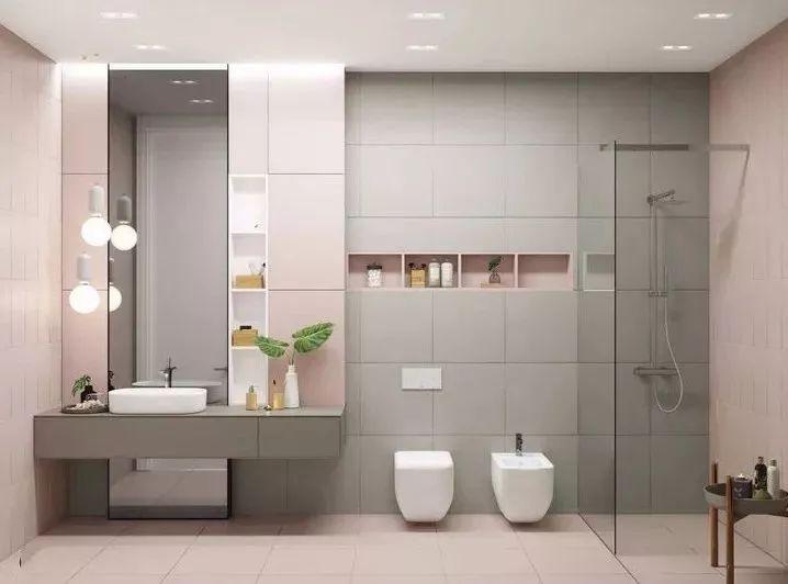 卫生间这样设计,能省掉好多家务活儿!_19