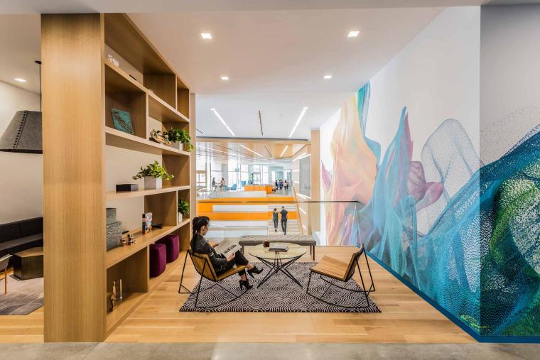 美国Adobe校园办公空间改造-3