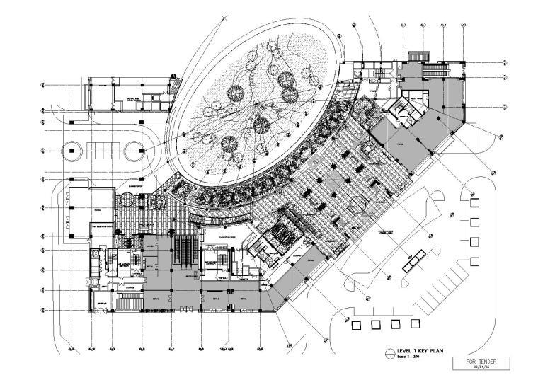 [北京]丽晶酒店装饰设计施工图+实景照片