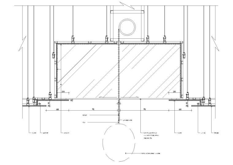 41套室内CAD节点大样整合资料-吊顶灯节点