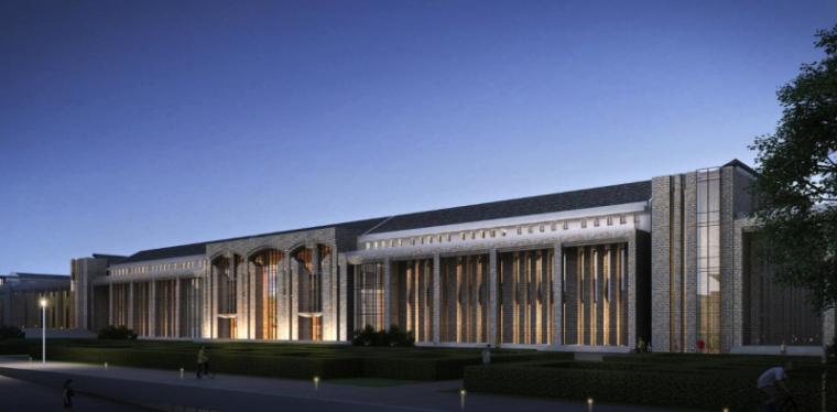 [山西]大学东山校区规划建筑模型设计-山西大学东山校区规划投标方案 哈工建院 (18)