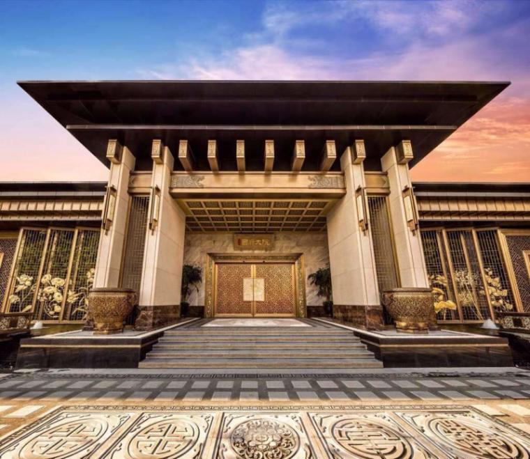 [北京]泰禾西府大院中式展示区建筑模型-北京泰禾西府大院 中式展示区 翰时建筑 (2)