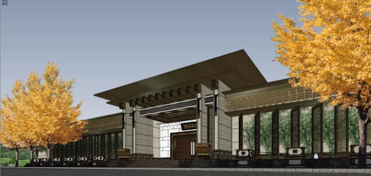 [北京]泰禾西府大院中式展示区建筑模型-北京泰禾西府大院 中式展示区 翰时建筑 (5)