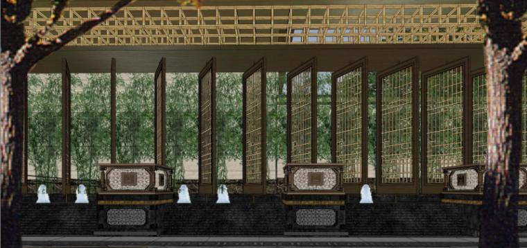 [北京]泰禾西府大院中式展示区建筑模型-北京泰禾西府大院 中式展示区 翰时建筑 (7)