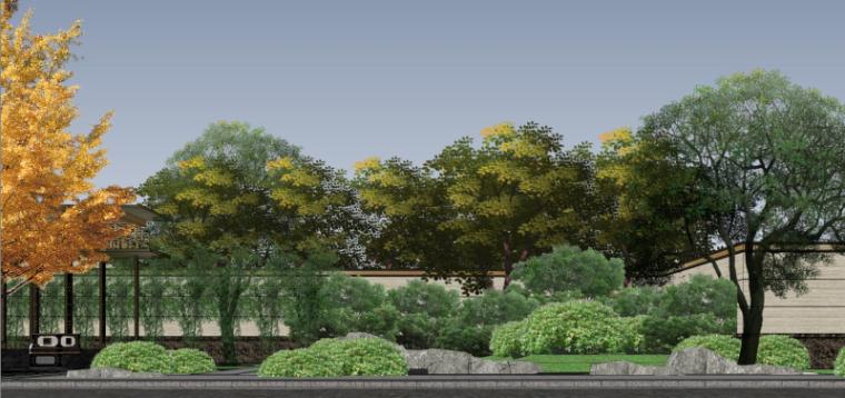 [北京]泰禾西府大院中式展示区建筑模型-北京泰禾西府大院 中式展示区 翰时建筑 (8)