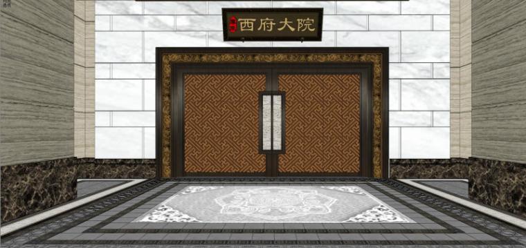 [北京]泰禾西府大院中式展示区建筑模型-北京泰禾西府大院 中式展示区 翰时建筑 (9)