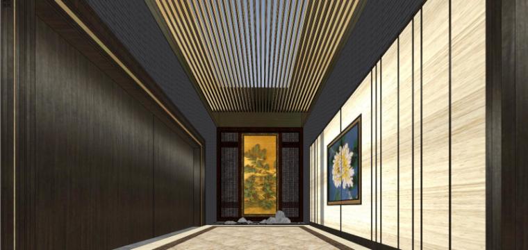 [北京]泰禾西府大院中式展示区建筑模型-北京泰禾西府大院 中式展示区 翰时建筑 (10)