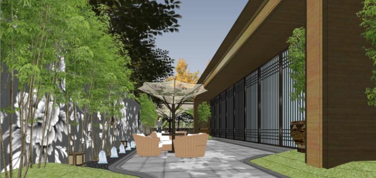 [北京]泰禾西府大院中式展示区建筑模型-北京泰禾西府大院 中式展示区 翰时建筑 (11)