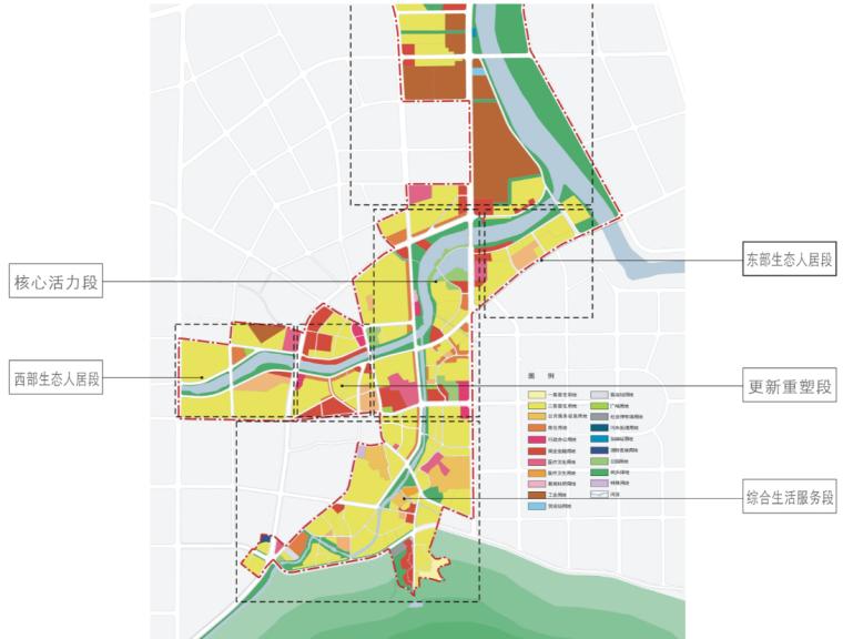 [湖北]通城县两河四岸村镇治理规划文本-土地利用规划图