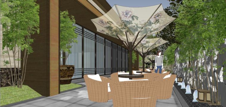 [北京]泰禾西府大院中式展示区建筑模型-北京泰禾西府大院 中式展示区 翰时建筑 (12)