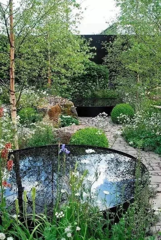 庭院水景这样设计,灵气满满!
