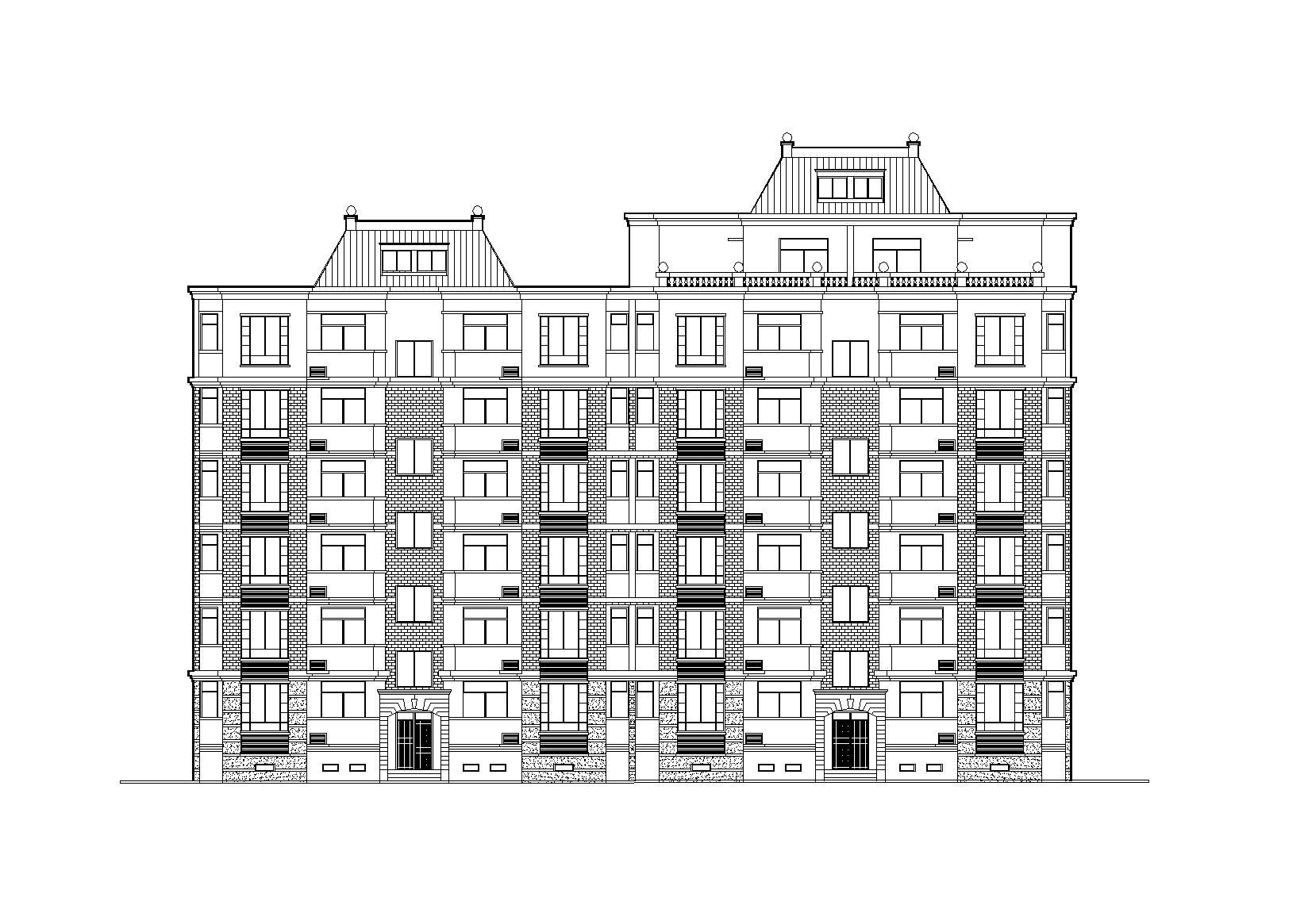 [江西]南昌东方塞纳8#住宅楼建筑施工图